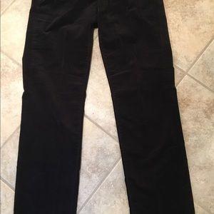 CALVIN KLEIN Fine Corduroy Jeans Black EUC 6